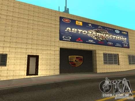 Salão do automóvel de Porsche para GTA San Andreas oitavo tela