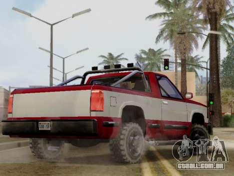 Yosemite Custom para GTA San Andreas