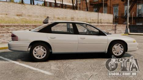 Dodge Intrepid 1993 Civil para GTA 4 esquerda vista