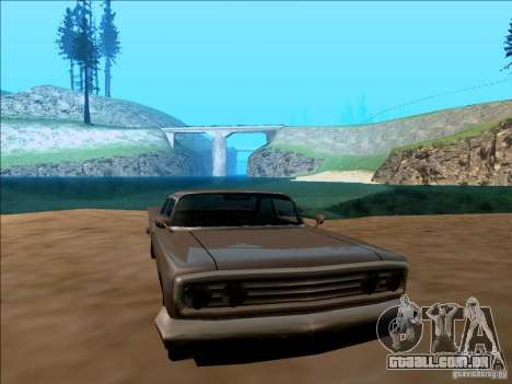 ENBSeries v1.1 para GTA San Andreas por diante tela