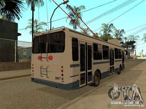 MTrZ 5279 para GTA San Andreas traseira esquerda vista