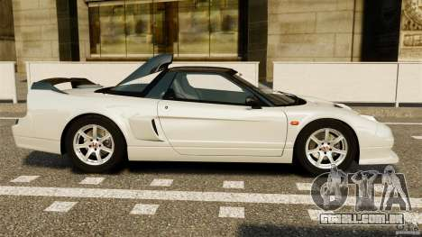 Honda NSX-R GT para GTA 4 esquerda vista