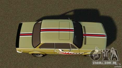 BMW 2002 Turbo 1973 para GTA 4 vista direita