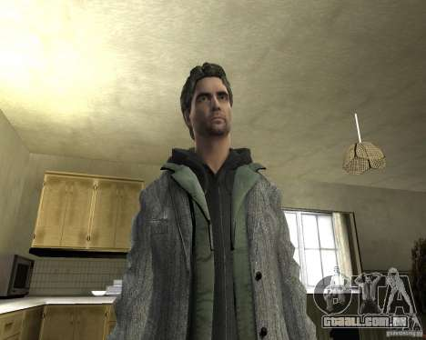 Alan Wake para GTA San Andreas quinto tela