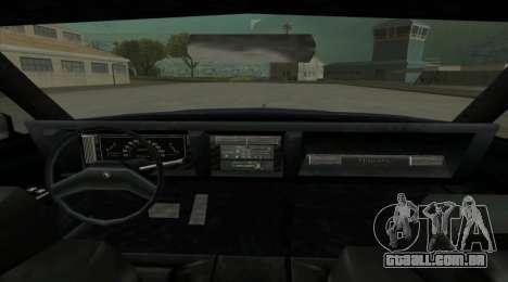 New Majestic para GTA San Andreas traseira esquerda vista