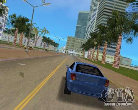 Toyota Celica 2JZ-GTE preto Revel para GTA Vice City vista direita
