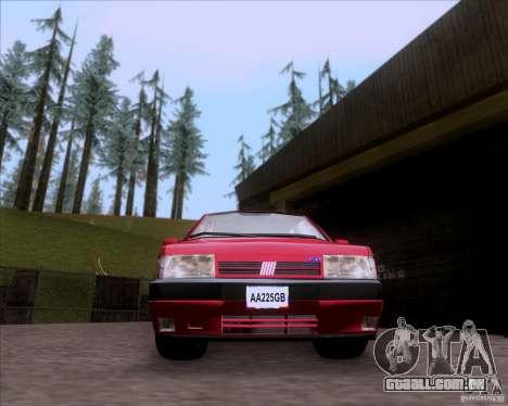 Fiat Tempra 1998 Tuning para GTA San Andreas traseira esquerda vista