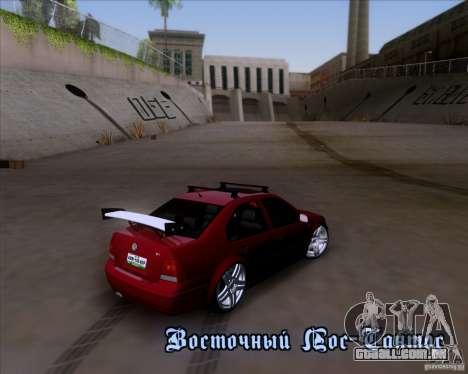 Volkswagen Jetta 2005 para GTA San Andreas vista superior