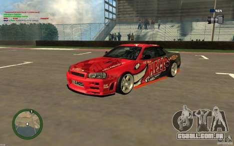 Nissan Skyline R34 Hell Energy para GTA San Andreas