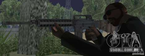 M16A4 from BF3 para GTA San Andreas terceira tela