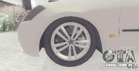 Infiniti M35 para GTA San Andreas esquerda vista