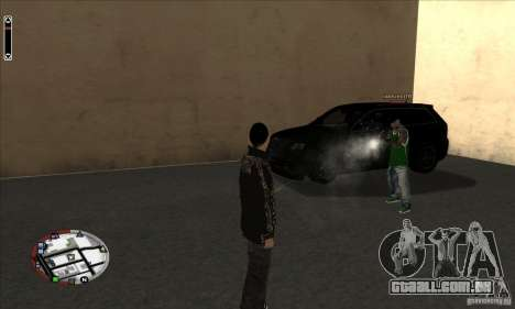 GodPlayer v1.0 for SAMP para GTA San Andreas segunda tela