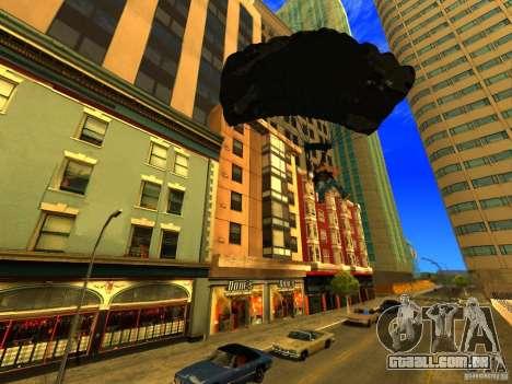 Global Parachute Mod para GTA San Andreas por diante tela