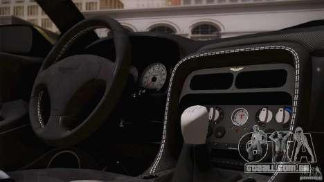 Aston Martin DB7 Zagato 2003 para as rodas de GTA San Andreas