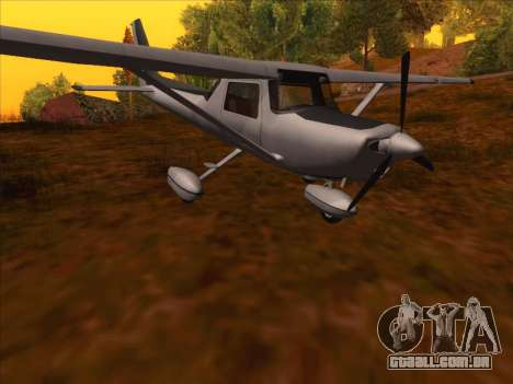 Cessna 152 v.2 para GTA San Andreas esquerda vista