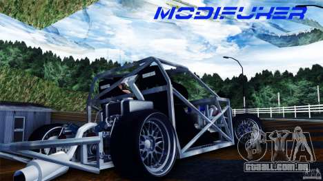 Mazda MX-5 Tube Frame para GTA San Andreas vista direita