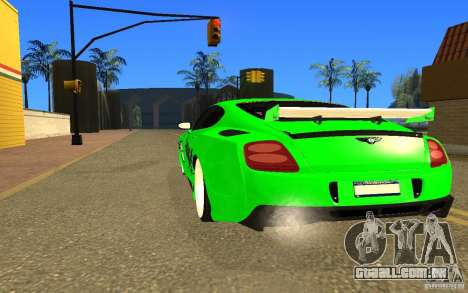 Bentley Continental GT para GTA San Andreas