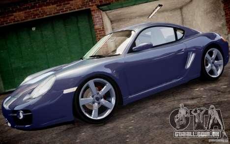 Porsche Cayman S 2006 EPM para GTA 4 esquerda vista