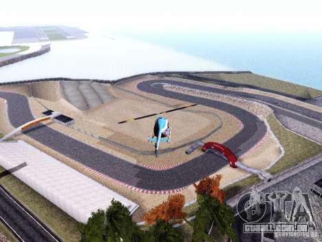 Laguna Seca Raceway para GTA San Andreas