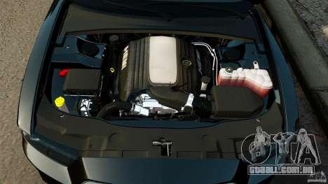 Dodge Charger RT Max FBI 2011 [ELS] para GTA 4 vista superior