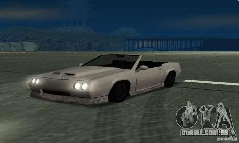Buffalo Cabrio para GTA San Andreas