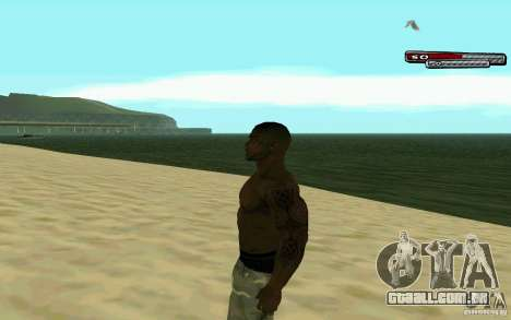 James Woods HD Skin para GTA San Andreas segunda tela