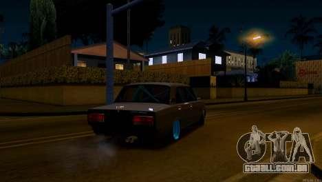 Clássicos combate Vaz 2107 para GTA San Andreas