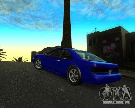 Khord ThunderWing para GTA San Andreas esquerda vista