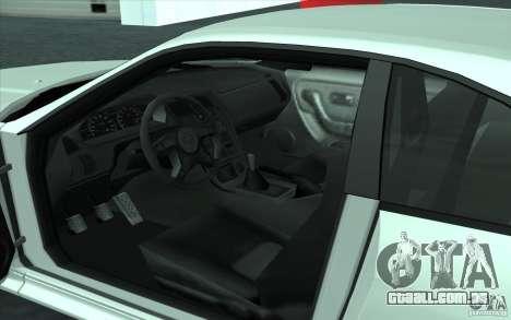 Nissan Skyline GT-R R-33 para GTA San Andreas vista direita