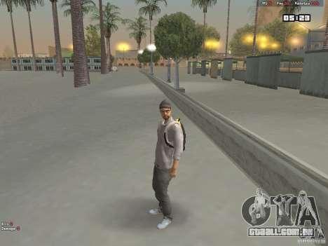Skin Hipster v1.0 para GTA San Andreas segunda tela