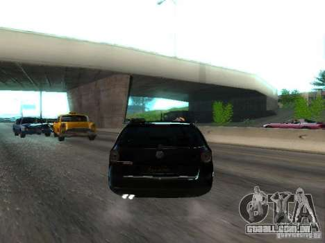 Volkswagen Passat B6 Variant Com Bentley 20 Fixa para GTA San Andreas vista direita