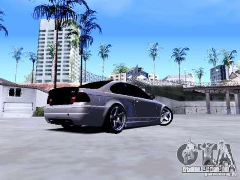 BMW 318i E46 Drift Style para GTA San Andreas vista direita