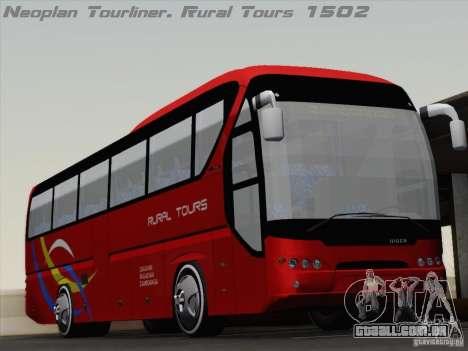 Neoplan Tourliner. Rural Tours 1502 para GTA San Andreas