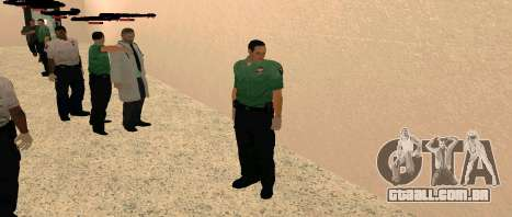 Medic Pack para GTA San Andreas terceira tela