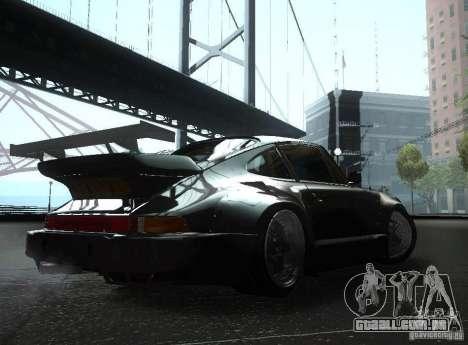 Porsche 911 Turbo RWB para GTA San Andreas vista direita