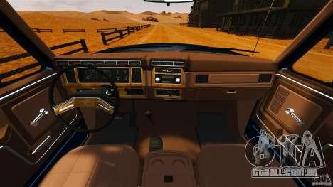 Ford Bronco 1980 para GTA 4 vista direita