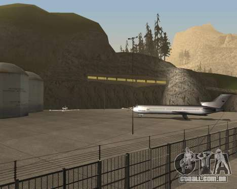 Real New San Francisco v1 para GTA San Andreas por diante tela