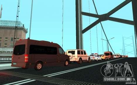 A comitiva presidencial v. 1.2 para GTA San Andreas terceira tela
