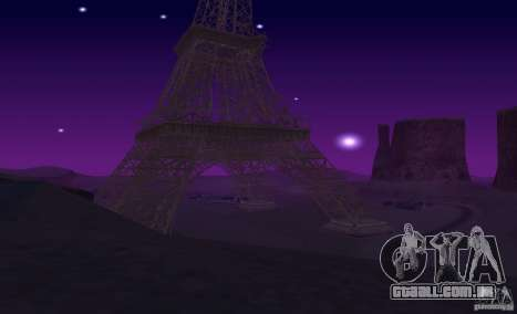 A Torre Eiffel de Call of Duty: Modern Warfare 3 para GTA San Andreas sexta tela