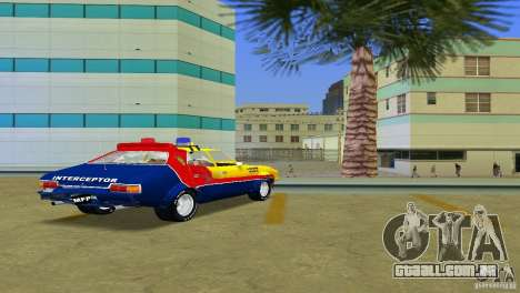 Ford Falcon 351 GT Interceptor para GTA Vice City vista interior
