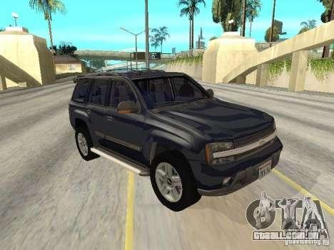 Chevrolet TrailBlazer 2003 para GTA San Andreas