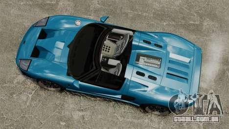 Ford GTX1 2006 para GTA 4 vista direita