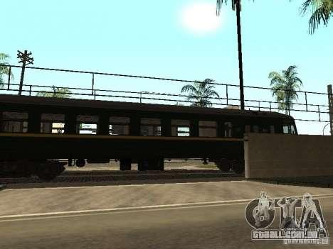ÈR2R-7750 para GTA San Andreas esquerda vista