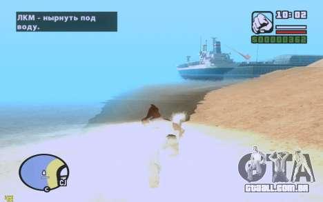 ENBSeries By VadimSpiridonov v.0.2 para GTA San Andreas quinto tela