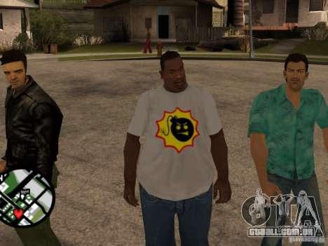 Nova t-shirt para GTA San Andreas segunda tela