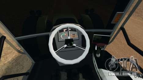 Claas Axion 850 para GTA 4 vista de volta
