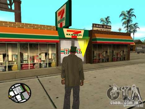 Novos restaurantes de texturas para GTA San Andreas por diante tela