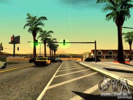 ENBSeries v1.2 para GTA San Andreas segunda tela