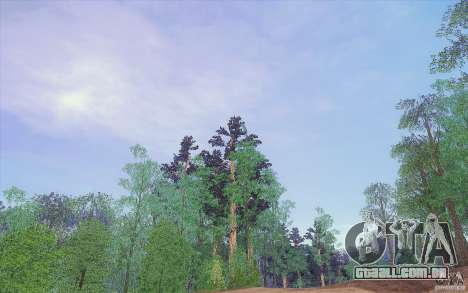 Sky Box V1.0 para GTA San Andreas por diante tela