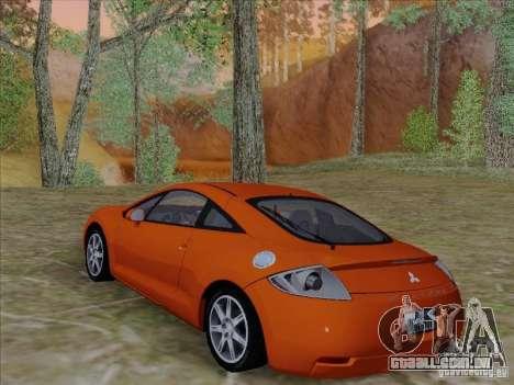 Mitsubishi Eclipse GT V6 para GTA San Andreas vista superior
